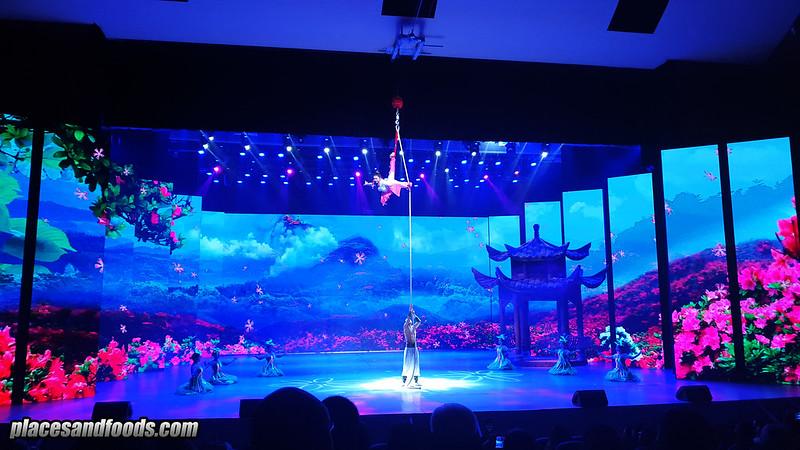 china emei kungfu show