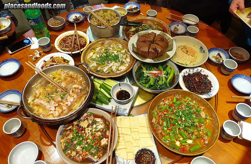 china emei dinner