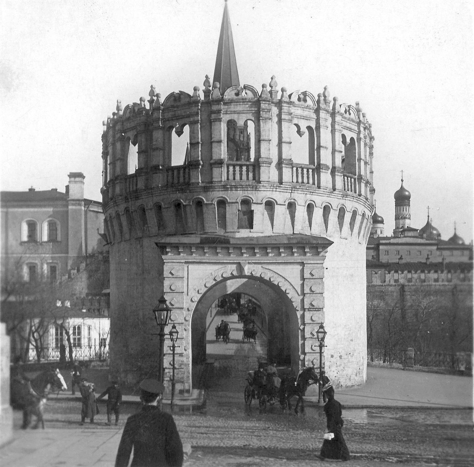 Кутафья башня. 1910-е