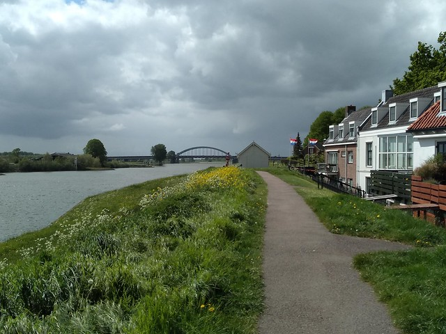 River Lek near Nieuwegein