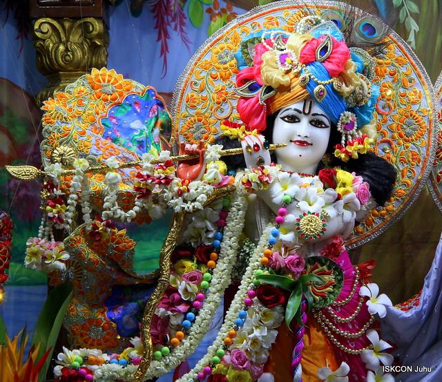 ISKCON Juhu Sringar Deity Darshan on 28th Apr 2019