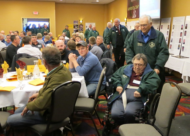 2019 National Wrestling Hall of Fame, Minnesota Chapter Parade of Green Jackets. 190427AJF0826