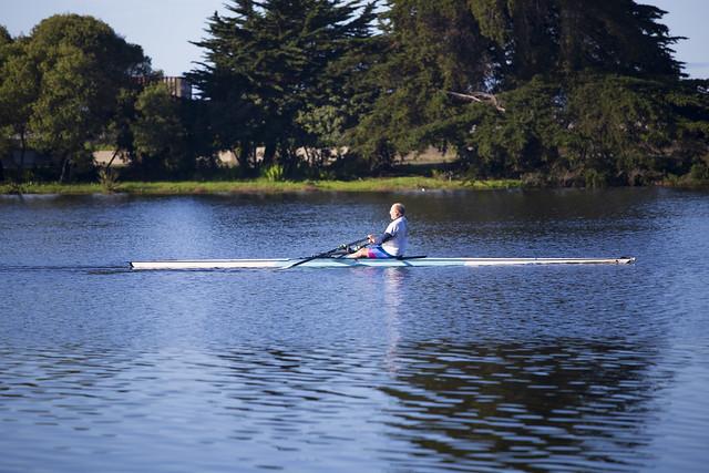 Berkeley Marina Rower Rowin