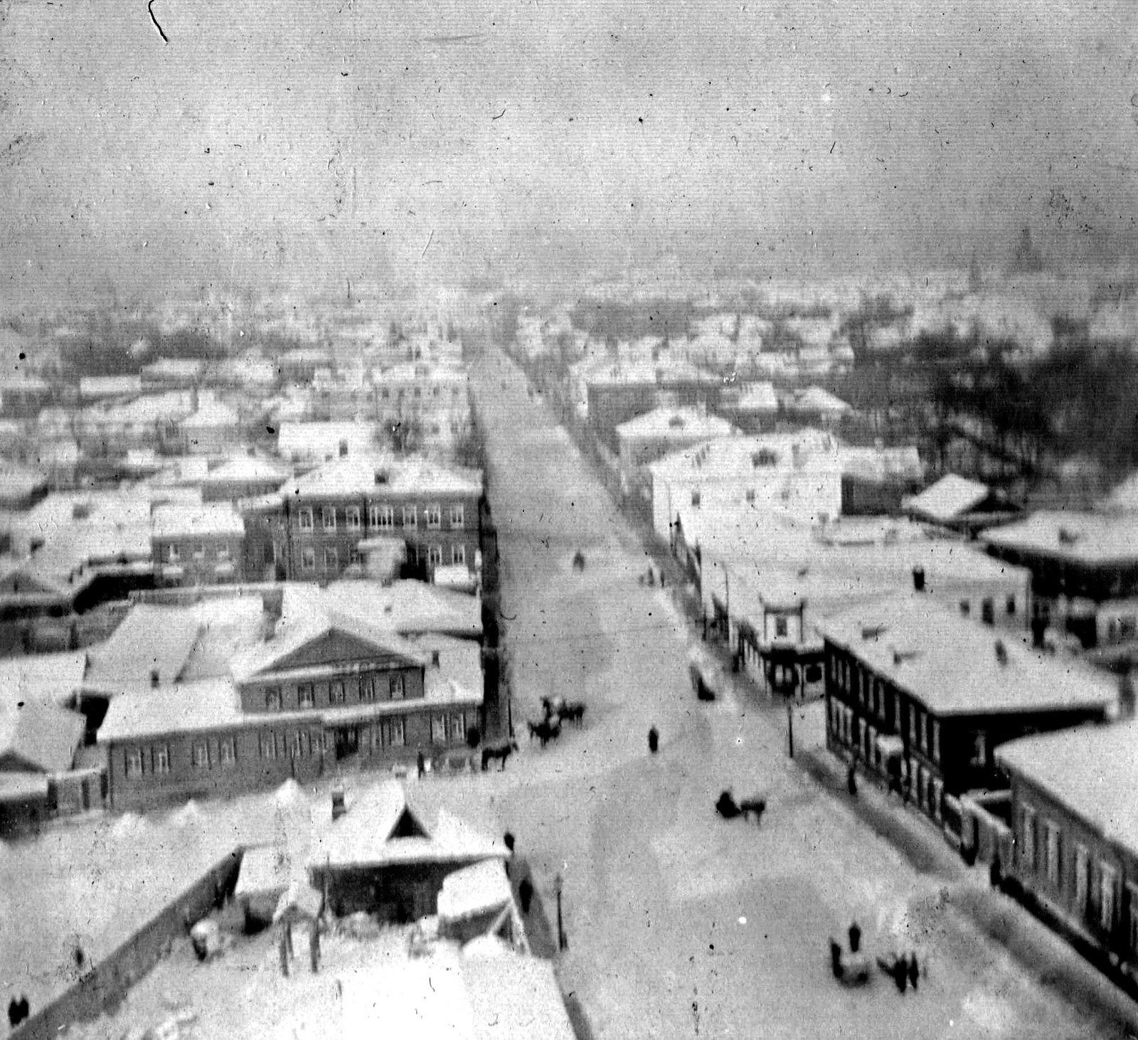 Улица Большие Каменщики. 1906