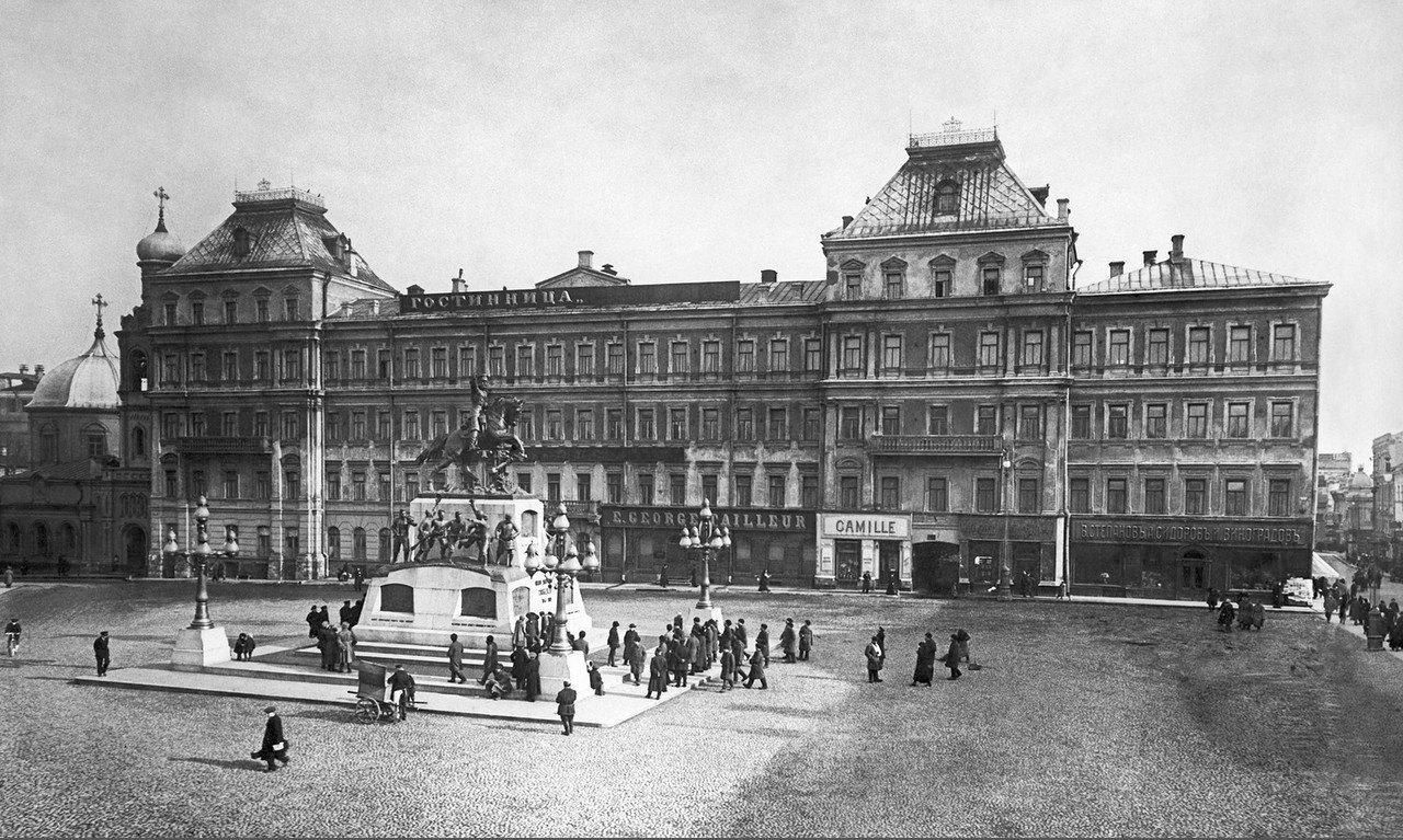 Тверская площадь. 1914