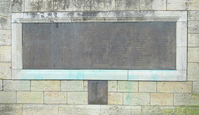 Evesham Great War Memorial Plaques