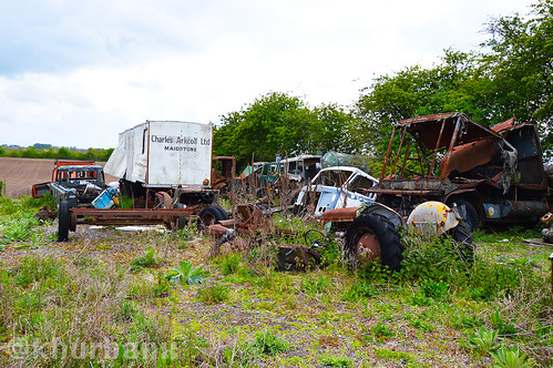 Car grave yard maidstone | by KHUrbanX ( ABLUMS)