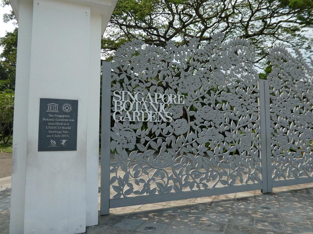 Singapore Botanic Gardens Entrance Gates