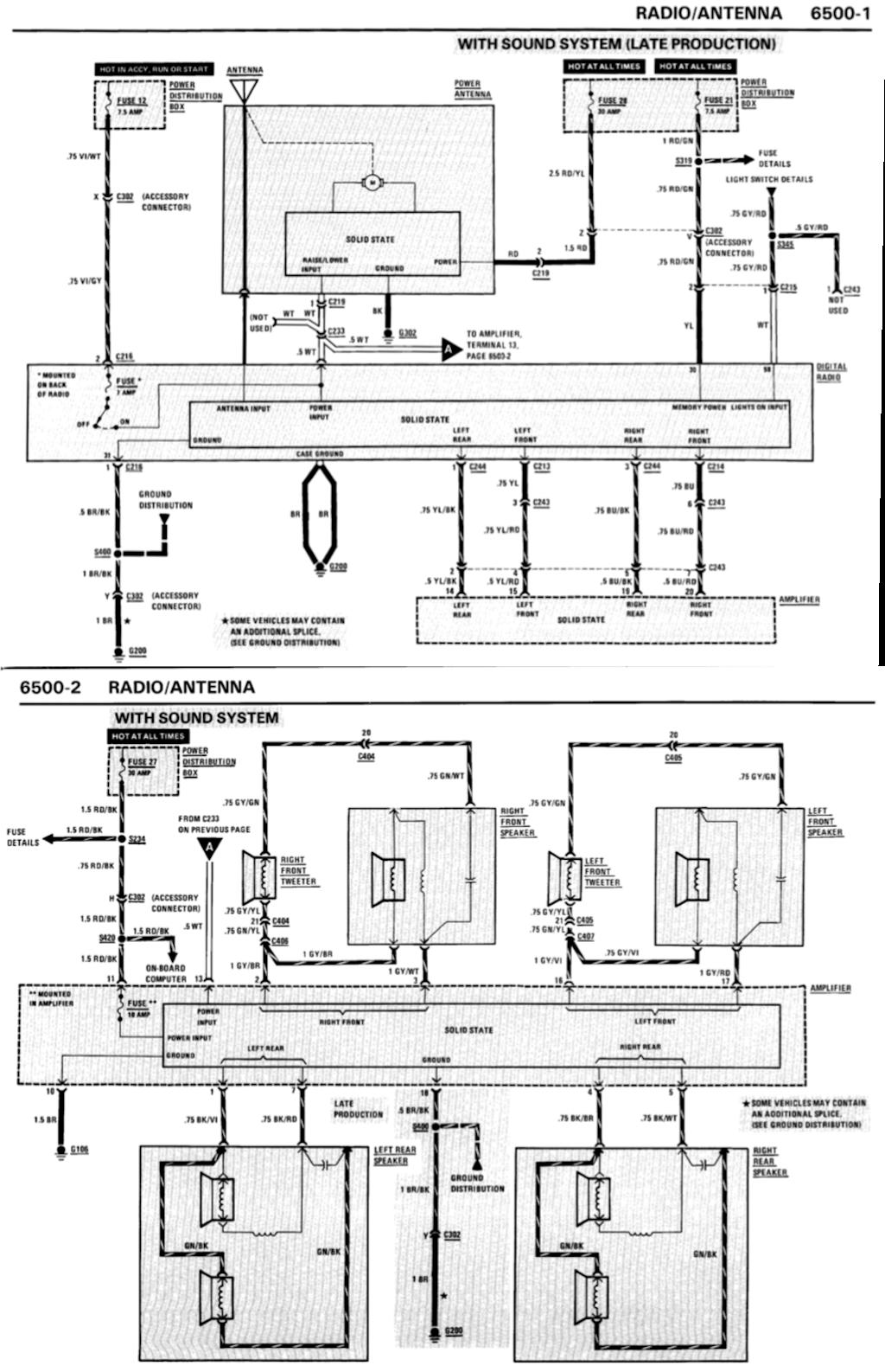 [ZHKZ_3066]  Understanding E30 speaker and amp wiring - R3VLimited Forums | 1989 Bmw Wiring Diagram |  | R3Vlimited.com