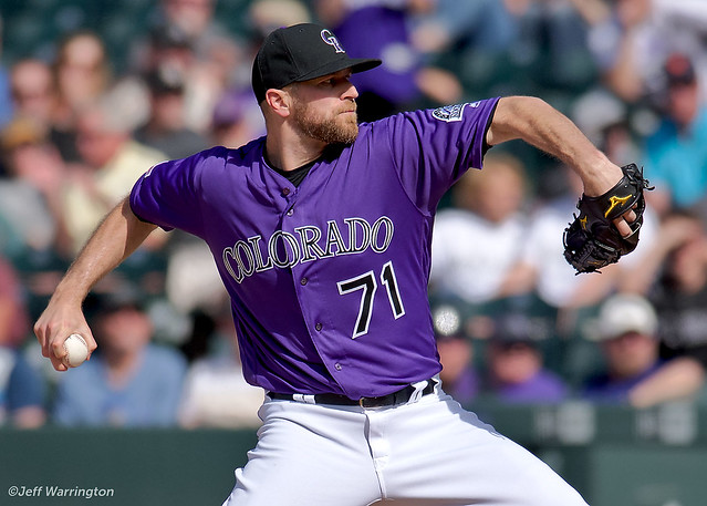 Wade Davis Colorado Rockies