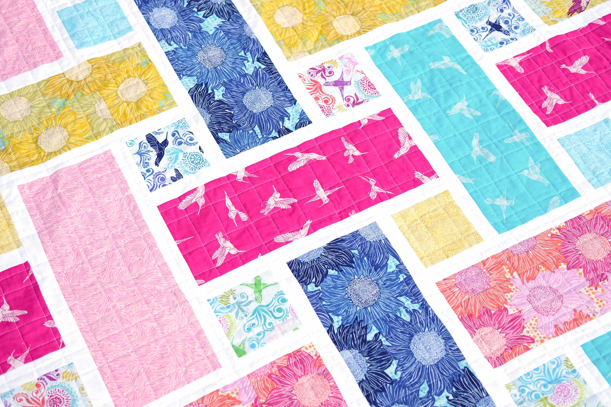 Murmur Quilt - The Tessa Quilt Pattern by Kitchen Table Quilting
