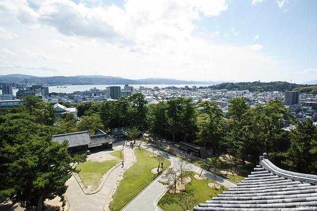 松江城 宍道湖