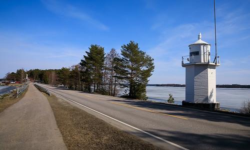 majakka travel tie landscape asikkala kevät vähäsalmi pulkkilanharju suomi karisalmi finland lighthouse road scandinavia spring