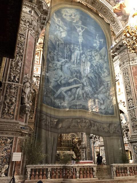 La Tela di Giovanni Patricolo nella chiesa di Santa Caterina