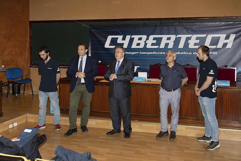 Entrega de Premios CYBERTECH 2019, ETSI Industriales