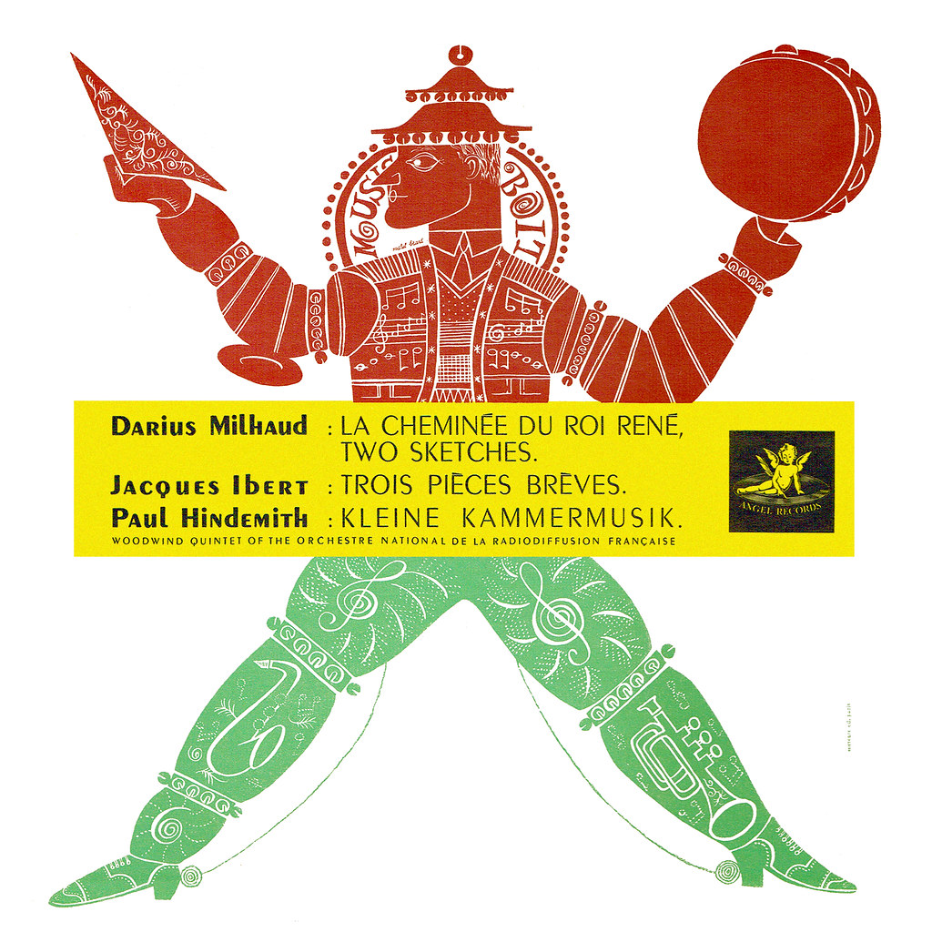 Darius Milhaud - La Cheminée du Roi René