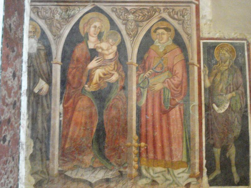 011-Богородица с предстоящими (14-15 в, Мастер Альвито)