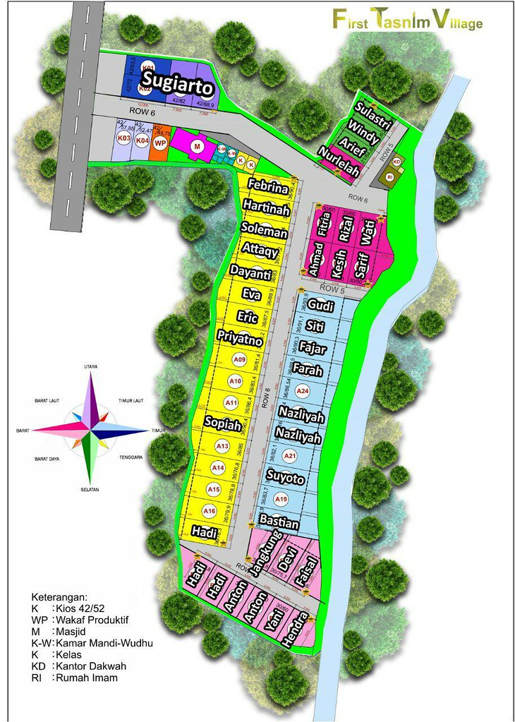 Siteplan First Tasnim Village 02