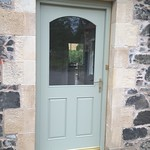 Arched head Hardwood Door