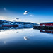 Narvik Harbour by Bernie Totten