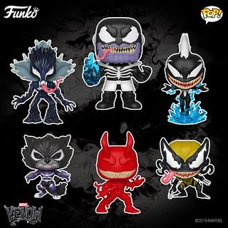 更多漫威角色被猛毒化! Funko Pop! Marvel【猛毒系列】Venom Series Pop!