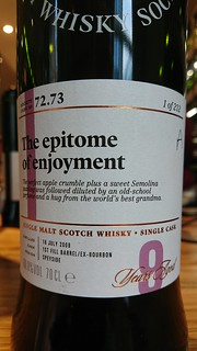SMWS 72.73 - The epitome of enjoyment