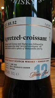 SMWS 85.52 - A pretzel-croissant
