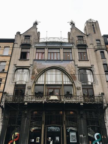 Zuremborg y 't Zuid   Art Nouveau en Amberes