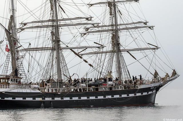 The French barque Belem, IMO 8622983; Nice, Alpes-Maritimes, France