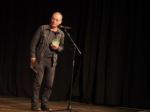 CE19 – awards ceremony // Thomas Hause (Winner Social Awareness Award - Best Documentary) // photo © Michael Straub / subtext.at