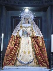 María Santísima del Mayor Dolor en su Soledad