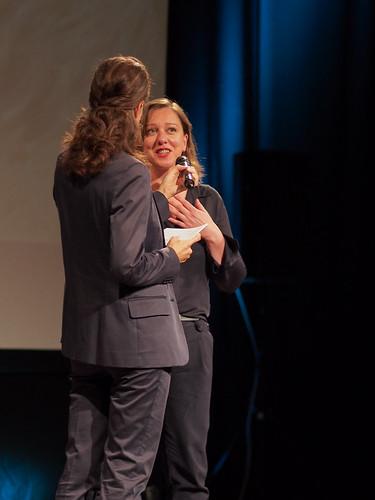 CE19 – awards ceremony // Wiltrud Katharina Hackl (gfk - gesellschaft für kulturpolitik oö) // photo © Michael Straub / subtext.at
