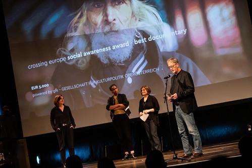 CE19 – awards ceremony // Wiltrud Katharina Hackl (gfk gesellschaft für kulturpolitik OÖ), Jury Competition Documentary // photo © Andreas Wörister / subtext.at