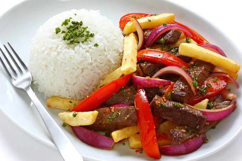 Lomo Saltado Peruvian Cuisine