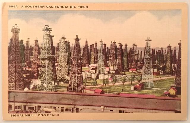 signal hill oil wells