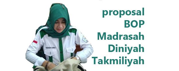 Proposal BOP Madin Madrasah Diniyah Takmiliyah