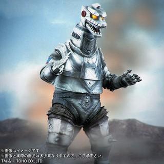 東寶大怪獸系列《機械哥吉拉的逆襲》機械哥吉拉(1975)發光版本【少年Ric限定】!東宝大怪獣 限定商品 メカゴジラ(1975) 発光Ver.