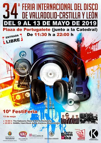 34 Feria Internacional del Disco de Valladolid-Castilla y León