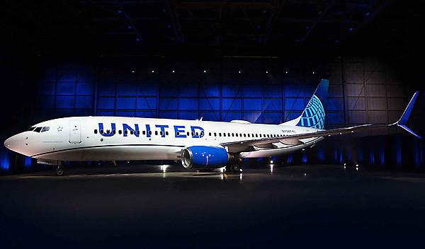United B737-800 new livery (United)