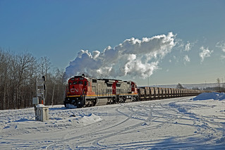 CN Canadian National C40-8 #2038 Thundbird Fairlane
