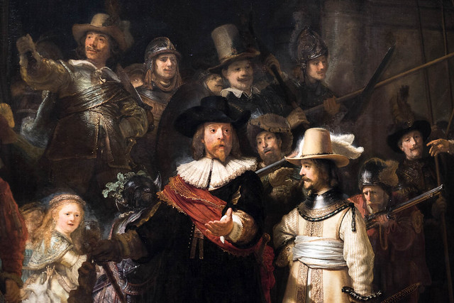 The Night Watch - detail