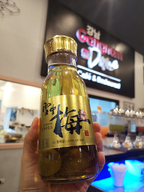 Korean plum wine 24k gold Gangnam in Davao IMG_20190427_192139