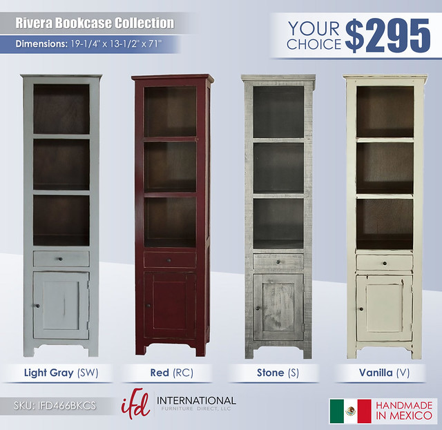 Rivera Bookcase Collection_IFD466BKCS