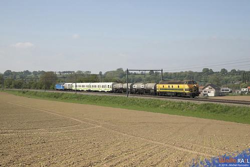 5539 + 6315 TUC Rail . Z 92742 . Wonck . 30.04.19.
