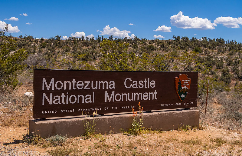 Montezuma Castle National Monument Sign