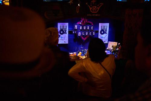 Rapt audience watches Ellis Marsalis perform at Piano Night - April 29, 2019. Photo by Eli Mergel.