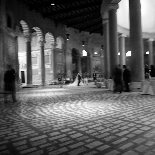 A blurred ceremony - Rome - October 2016