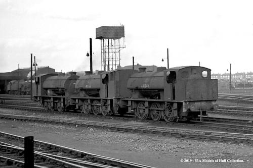 britishrailways wd lner j94 060st 68054 68046 withdrawn steam darlington 51a mpd train railway locomotive railroad