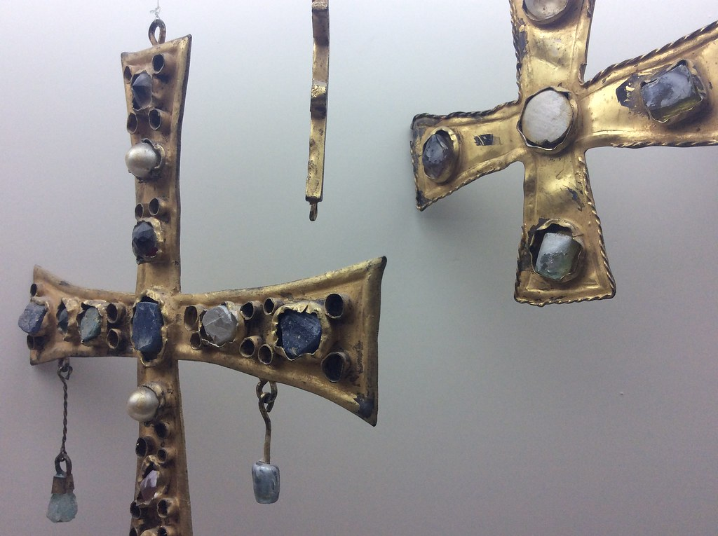 Croix chrétiennes dans le Musée archéologique de Séville