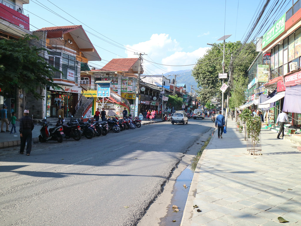 Lakeside road Pokhara